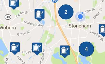 EZMaxMobile Features - Mapping