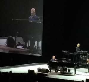 Elton John on stage for IBM InterConnect 2016