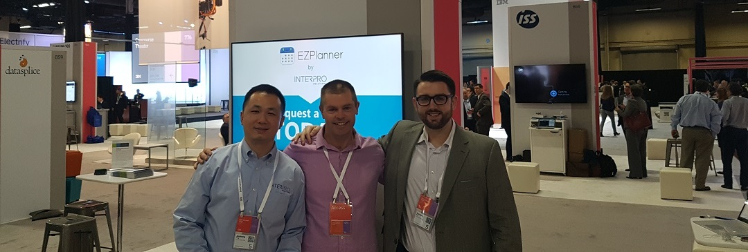 Clarita's Brad Miller with Interpro Solutions at #ibminterconnect 2017