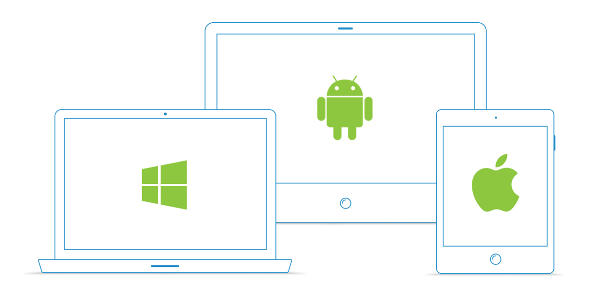 EZMaxMobile is truly device independent - use on Windows, Android or iOS